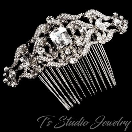 Vintage Design Style Bridal Hair Comb