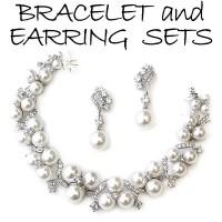 Bracelet Earring Sets