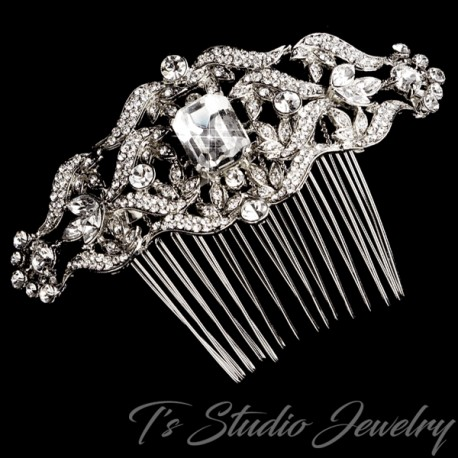Vintage Design Style Bridal Hair Comb