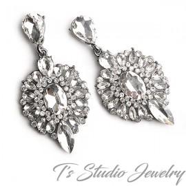 Elegant Vintage Style Chandelier Earrings