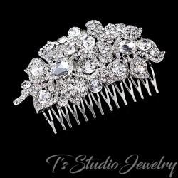 Rhinestone Crystal Wedding Hair Comb