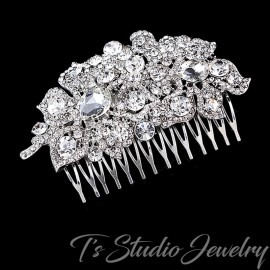 Rhinestone Crystal Wedding Hair Comb